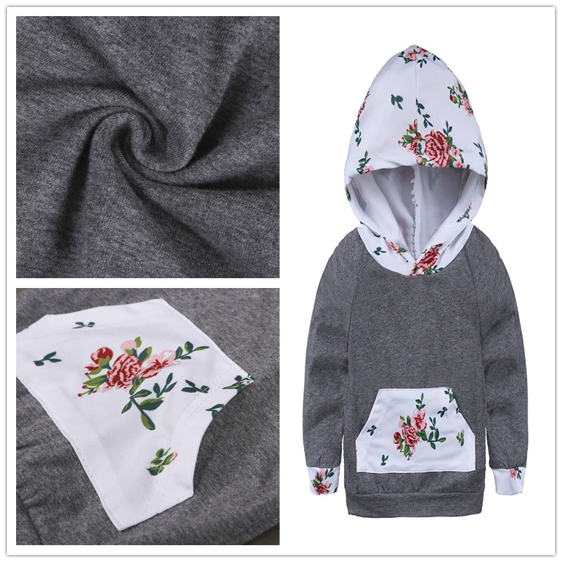 5e5733666 Buy Cotton Hoodies Set Baby Girl Clothing Litter Child Clothes Sport ...