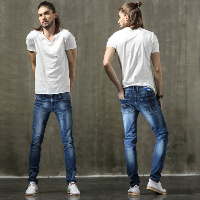 Aliexpress.com : Buy 2016 Fashion stretch Mens skinny jeans slim ...