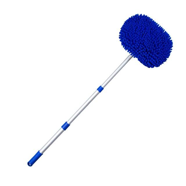 Blue telescopic mop