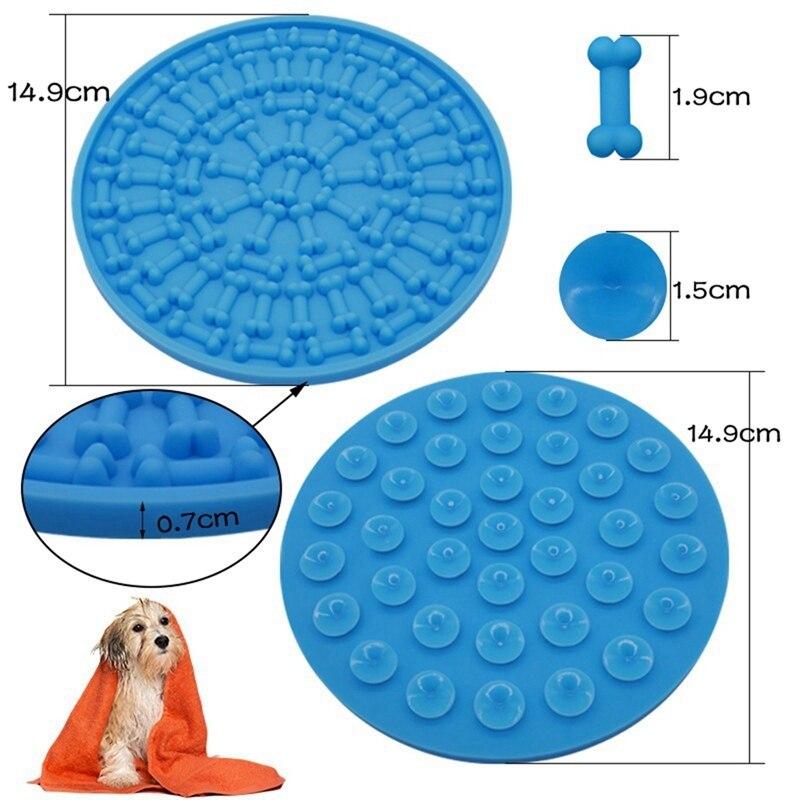 Dog Bathroom Mat Silicone Pad Puppy