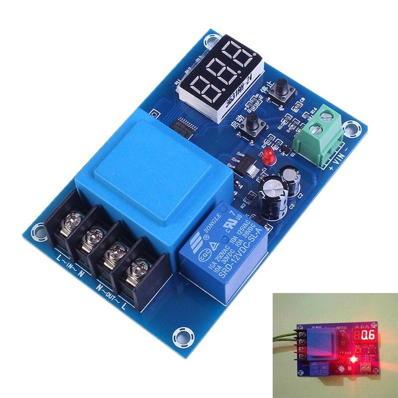 XH-M602 Numérique Control Charge De La Batterie Module de Commande AC 220 V Lithium Batterie De Stockage Chargeur Contrôle Commutateur Protection Conseil