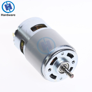 New DC 12V-36V 3500--9000 RPM Large Torque Motor High-power Low Noise 775 Motor Ball Bearing Tools(China)