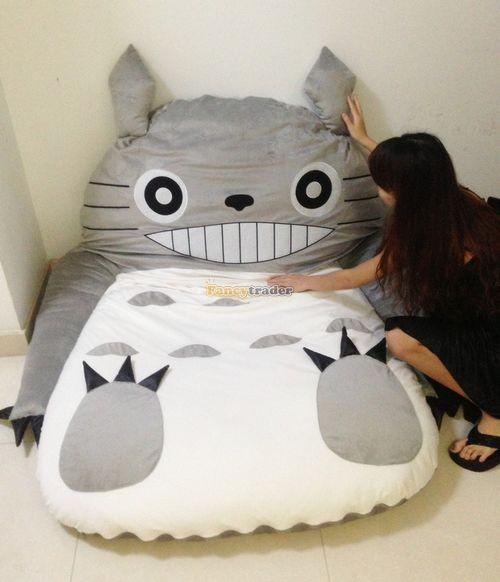 Fancytrader 190cm X 130cm Super Cute Huge Giant Totoro Bed Tatami Carpet Sofa Free Shipping FT90191 (18)