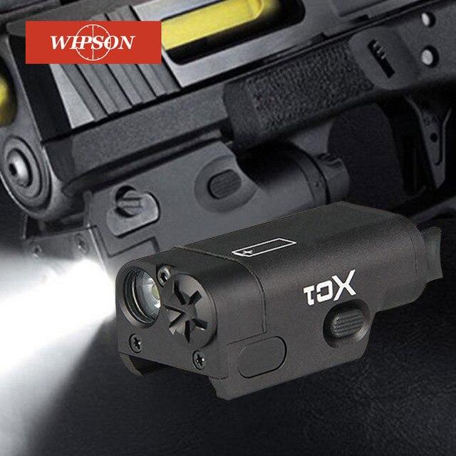 WIPSON SF XC1 Pistolet MINI Light Gun LED Tactique Arme Légère Airsoft Militaire Chasse lampe de Poche Pour GLOCK Livraison Gratuite