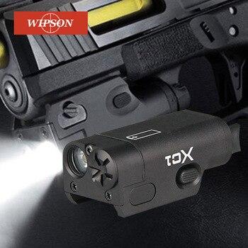 WIPSON SF XC1 pistola MINI pistola de luz LED arma táctica luz Airsoft, militar, linterna de caza para GLOCK