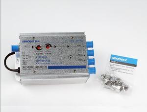 Image 3 - 220V prise ue 30db câble réglable 45 860MHz 2W amplificateur de Signal TV 1 dans 4 amplificateur CATV