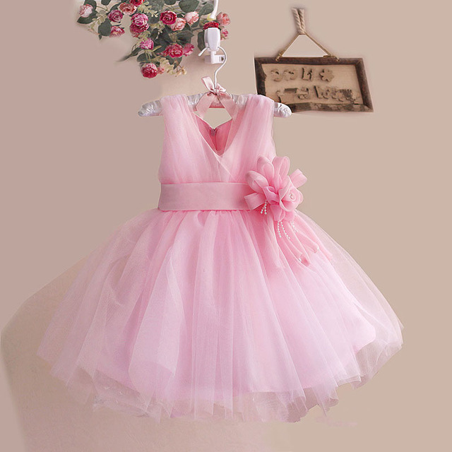 3a113f68ba12 Flower Girl Dress for Wedding 2018 Baby Girls Birthday Party Christmas  Dresses Kids Clothes Communion Pageant Princess Dresses