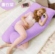 Беременности комфортно типа u подушки Для тела Подушка для беременных женщин лучший для боковых шпал съемный 4 цвета #25