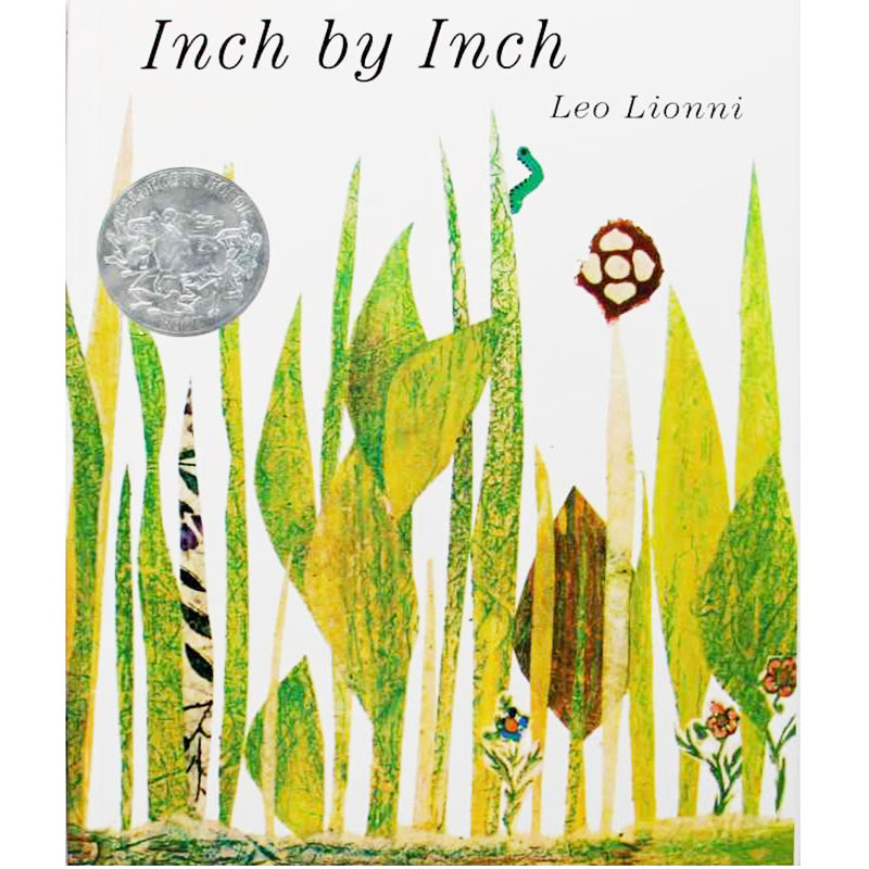 Inch by Inch By Leo Lionni Educational English Picture Book Learning Card Story Book For Baby Kids Children Gifts Сникеры