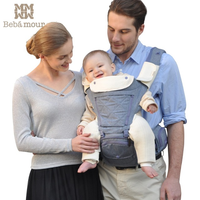 Bebamour Baby Carrier Breathable Baby Hipseat Backpack Ergonomic