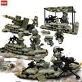 Новое Поступление Целевая Джунгли Commando Рисунок Оружие Строительные Блоки, которые Поддерживаются legoe Армия Лагерь Модель Кирпичи Игрушки