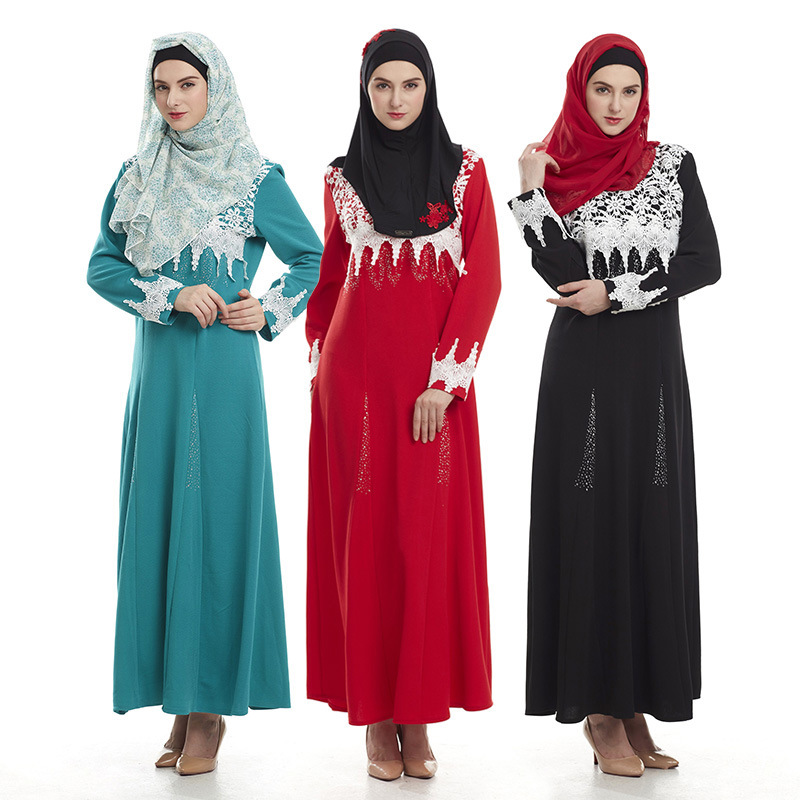 malaysia abaya clothes turkey muslim embroidery