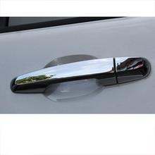 Lsrtw2017 Abs Cae Outside Door Handle Trims for Mitsubishi Pajero Sport Montero 2008 2009 2010 2011 2012 2013 2014 2015 2016 lsrtw2017 aluminum alloy car door handle trims decoration for jeep wrangler 2008 2009 2010 2011 2012 2013 2014 2015 2016 2017