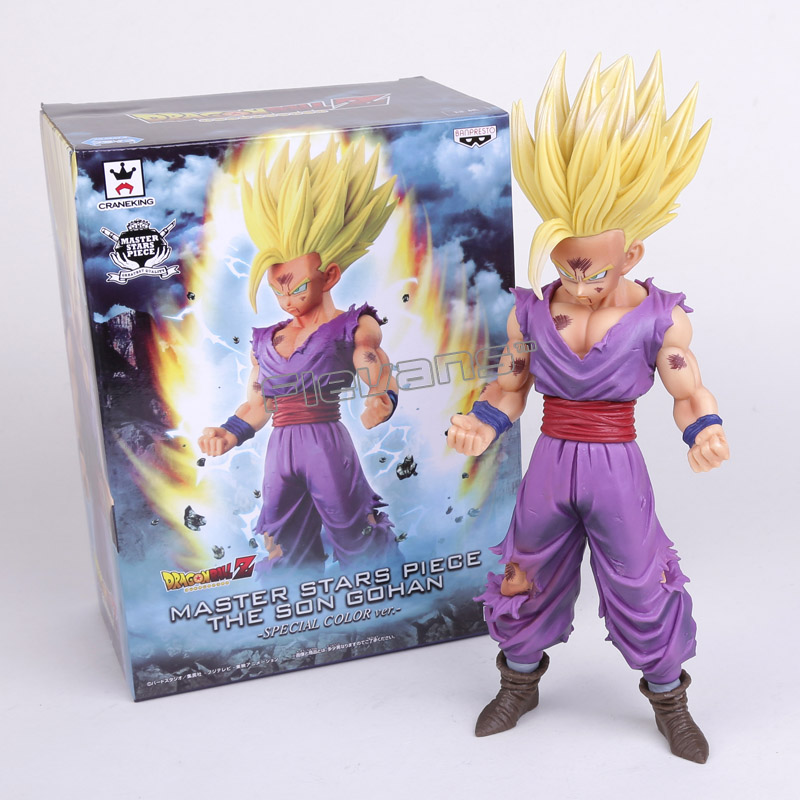 Dragon Ball Z Master Stars Piece The Son Gohan Special Color ver. PVC Figure Collectible Toy 24cm chris wormell george and the dragon