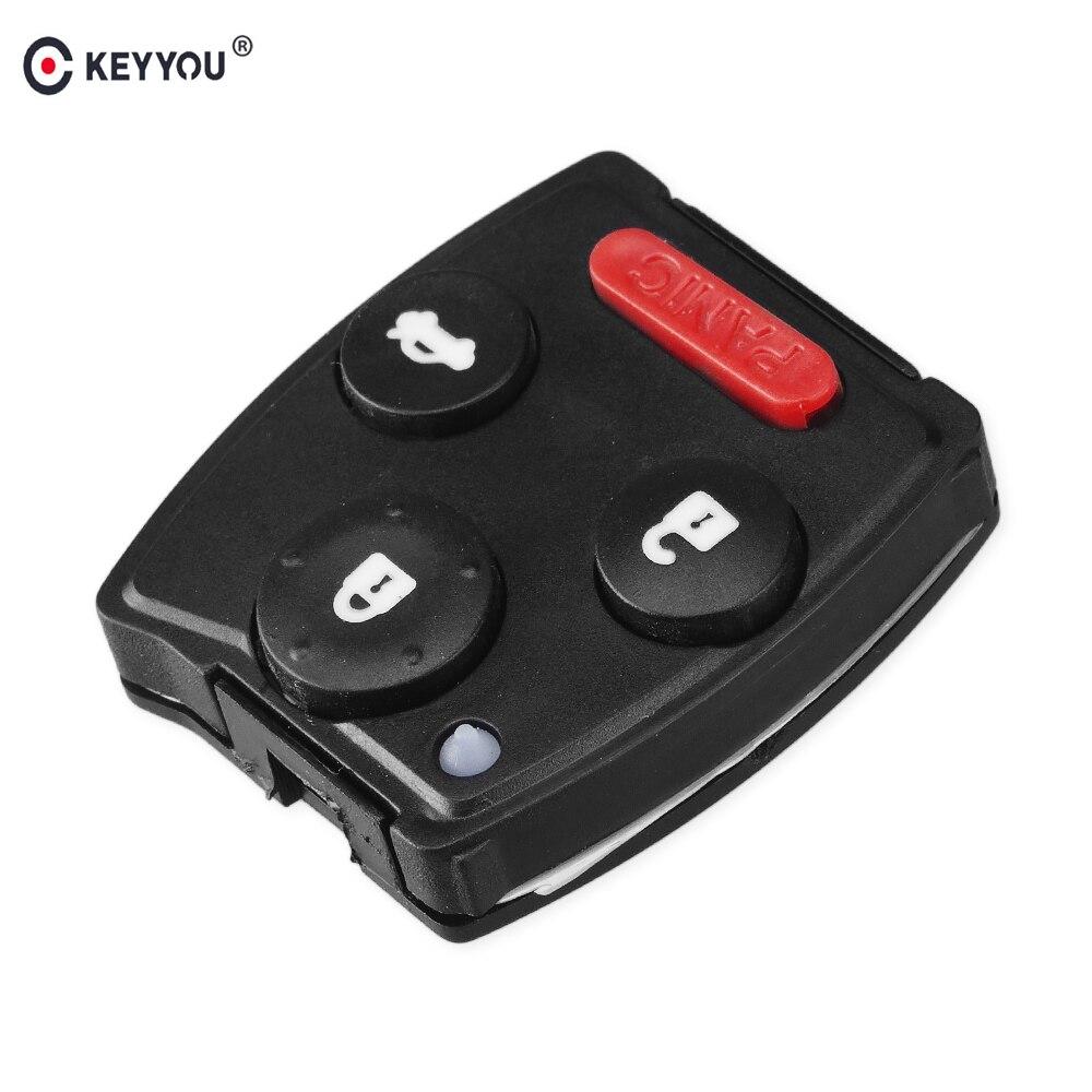 Chiave Telecomando per Honda Civic Accord CR-V Pilot Remote Car Key Fob Case Cover