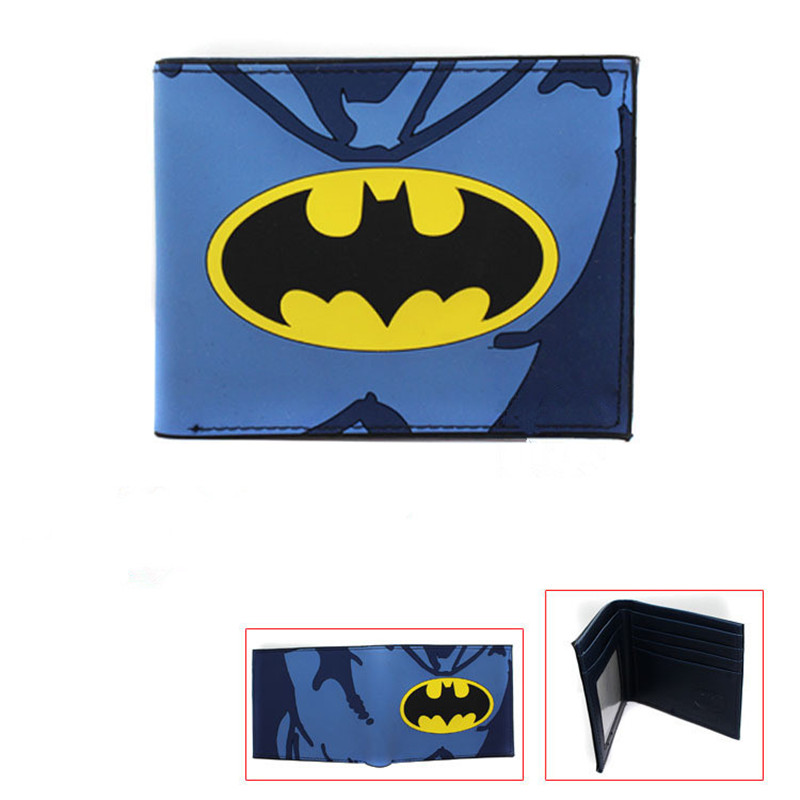 American Film The Avengers Hero picture Short Wallet High Quality PU Leather Student Purse Captain America/Bat man/War Machine horizontal zipper wallet american super hero iron man short frosted purse