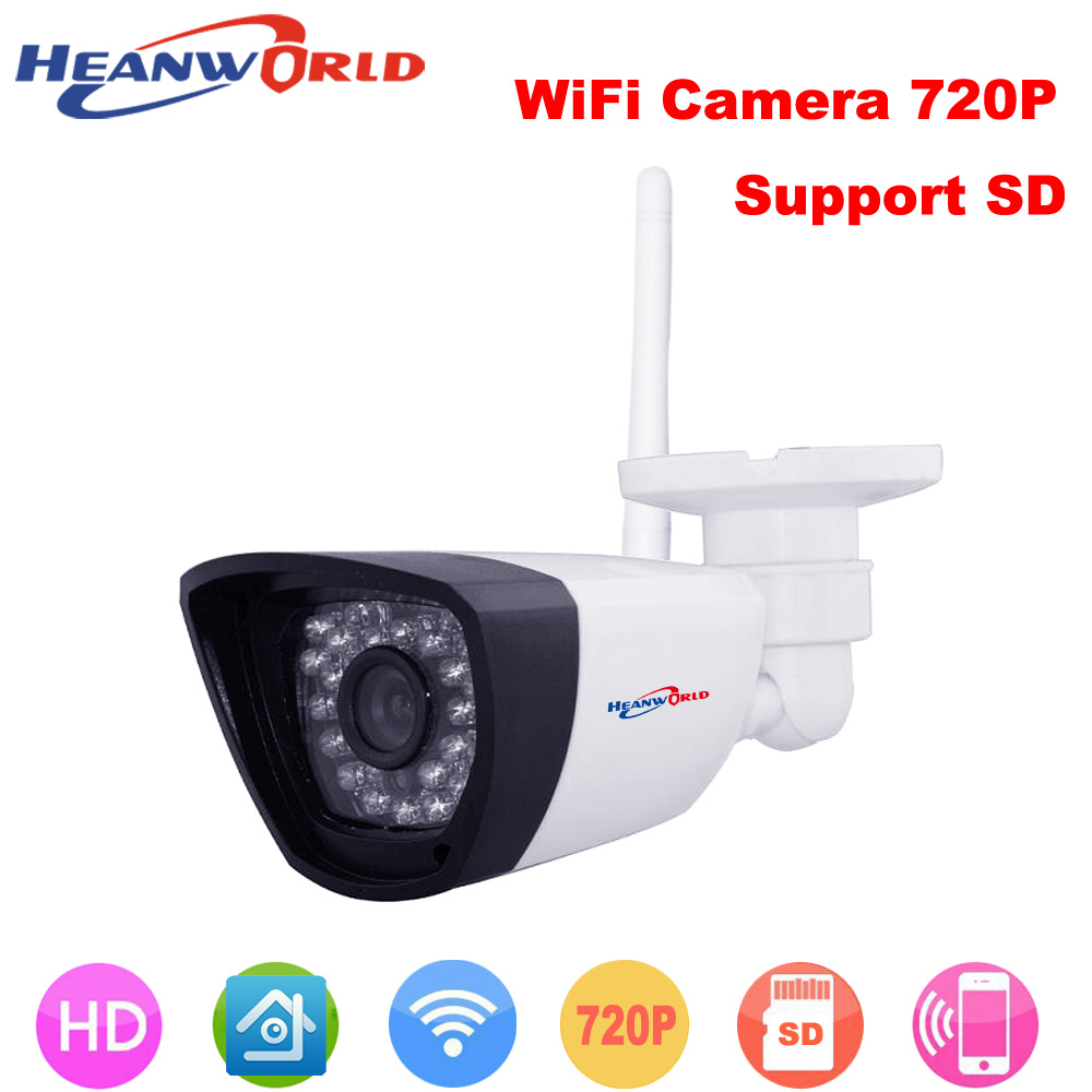 Heanworld 1080p Ip Camera Wifi Cctv Webcam Wireless Surveillance Security Camera 30led Support Smartphone View Sd Card Slot Cam Fixing Prices According To Quality Of Products Video Surveillance Security & Protection