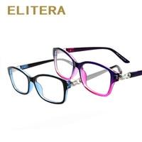 2015 New Brand Crystal Connection Women Men Glasses Frame Optical Eyeglasses Myopic Frame Women Elegant Frame