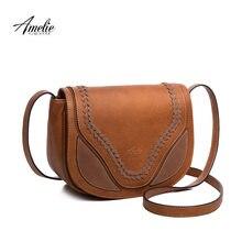 8df7474ec AMELIE GALANTI sela bolsa e bolsas flap crossbody sacos para as mulheres  causal sólidos macio de alta qualidade do couro DO PLUT.