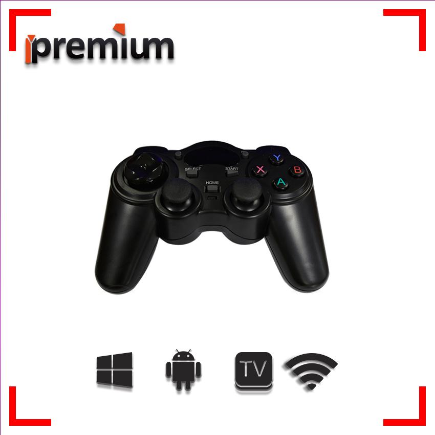2017 Android Wireless Gamepad Joystick Controle pc 2.4GHz gamepad pc joypad Game Controller For for PC/ TV box/ Smart Tv/PS3 wireless controller gamepad joystick for wii u pro