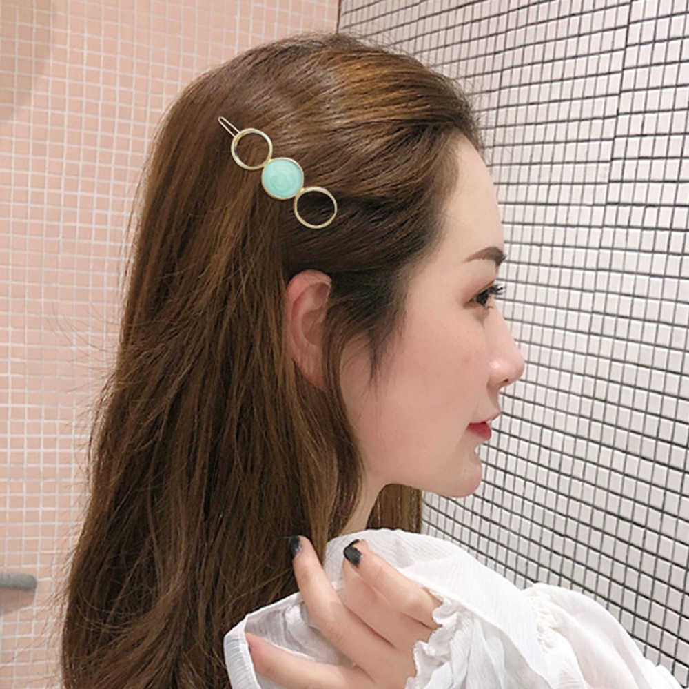 8 стилей темпераментные боковые заколки для волос пятиконечные звезды круглые скрепки челка зажим сломанная Милая шпилька с животными аксессуары для укладки волос