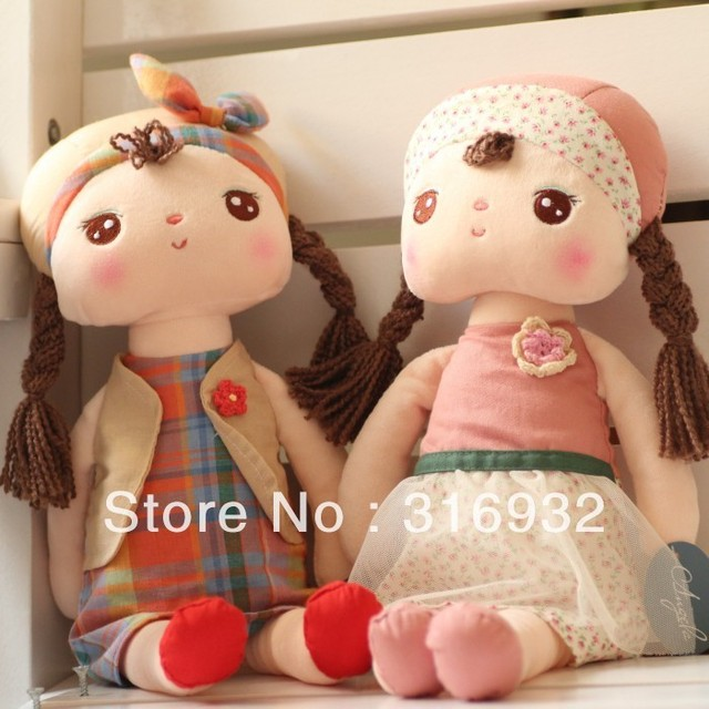 J1 New free shipping Metoo rabbit angela girl plush toy doll, size 60cm,12 designs can select