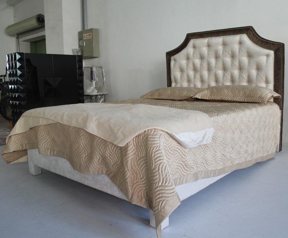Cabeceros tapizados camas muebles populares en el mercado de China ...