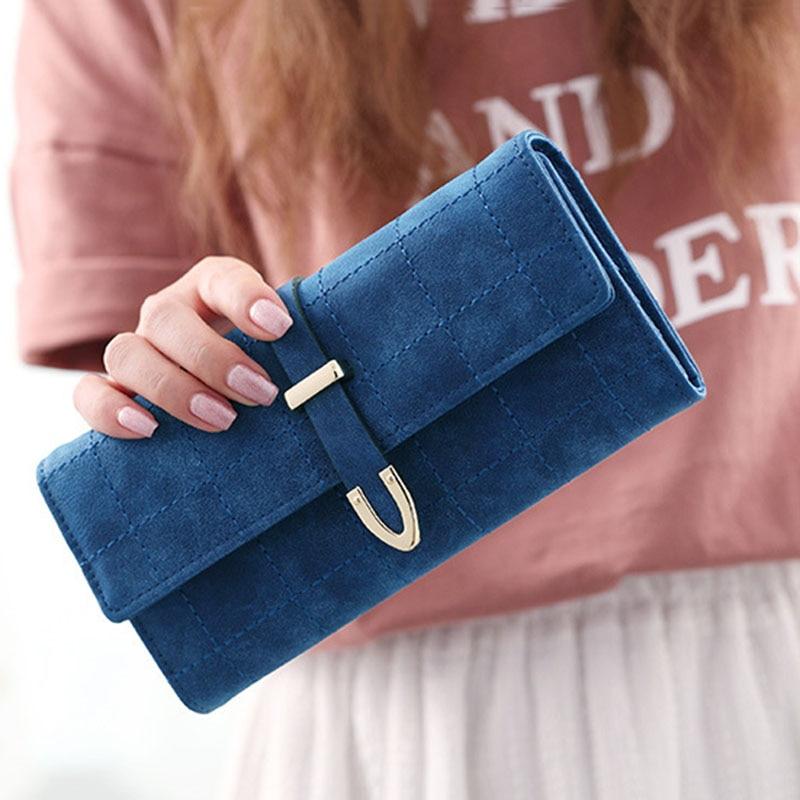 Wallet Women's Purse Women Long Wallet Female Purse Women Wallets Coin Clutch Ladies Luxury Designer Women Purses More Color