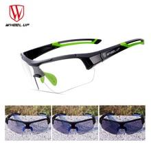 Новинка 2017 года фотохромные обесцвечивание Велосипеды Очки для MTB дорожный велосипед Очки для велосипедного спорта наружное спортивные очки Солнцезащитные очки для женщин черный