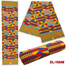 New African National Wind polyester transmittance printed fabric DIY 6yards