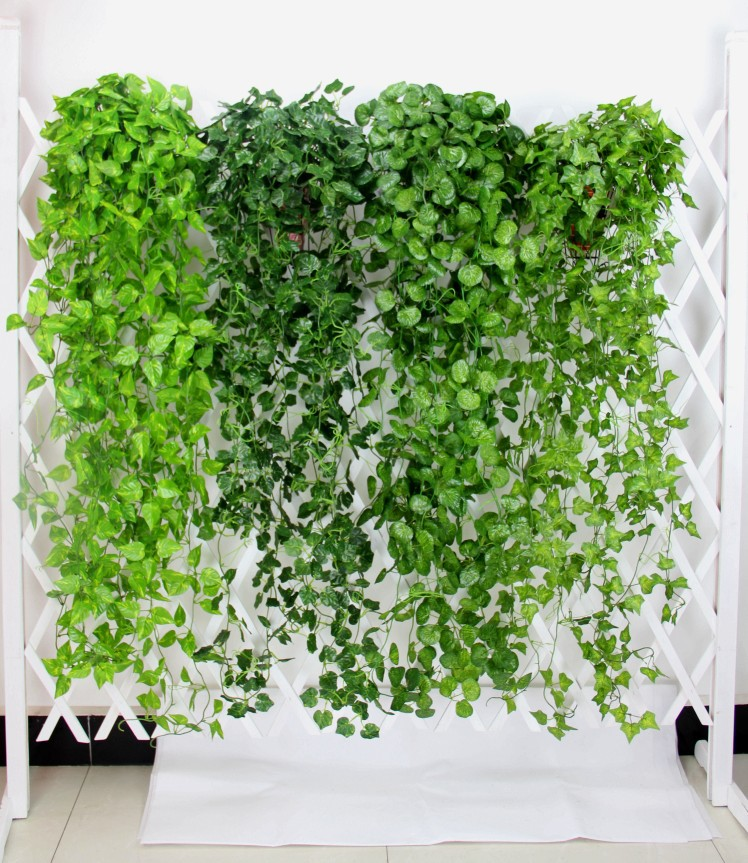 120cm 90cm 3pcs lot artificial grape leaves wall hanging for Artificial leaves for decoration