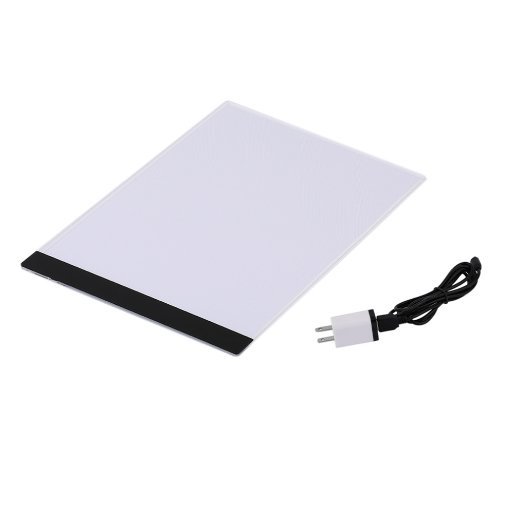 2016 Durable Pratical 4mm Ultrathin A4 LED Light Pad Copy Pad Drawing Tablet LED Tracing Painting