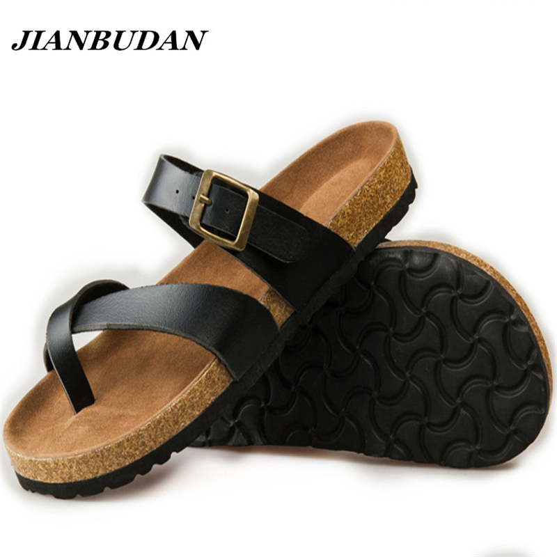 Summer couple slippers, 2015 new tide male cork slippers, couple slippers, beach sandals, women sandals