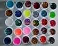 5ml x 30pcs Colorful Glitter paillette Shining Builder UV Gel Set For Decoration Nail Tip