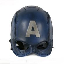 High Quality The Avengers Captain America 3 Civil War Cosplay Helmet Superhero Captain PVC Masks Halloween Cosplay Mask Headwear цена