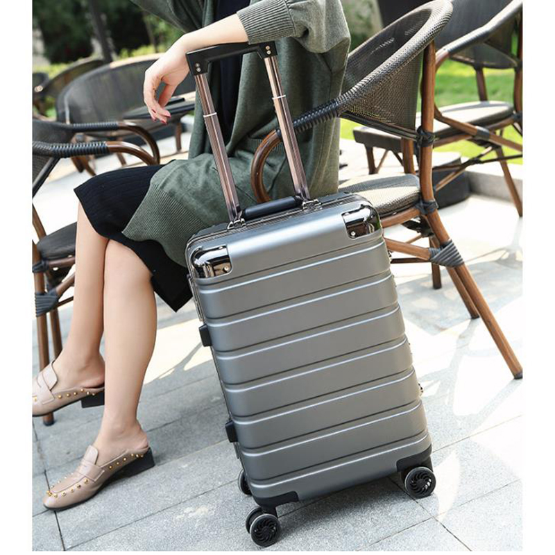 "TRAVEL TALE 20""24"" business travel suitcase hardside trolley travelling bags and luggage for women and man-in Rolling Luggage from Luggage & Bags    1"