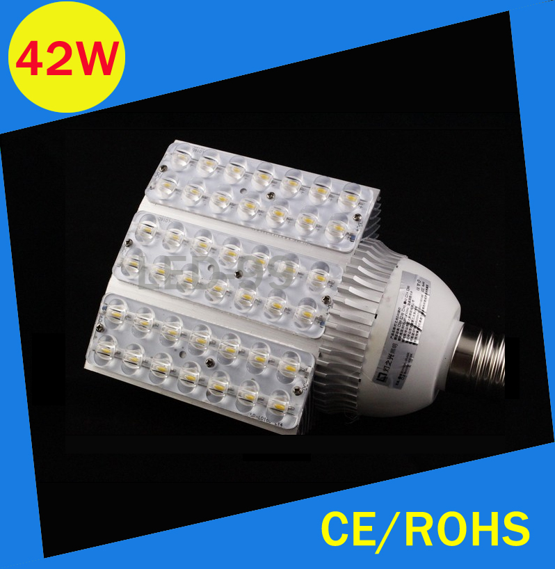 ФОТО E40 E27 42W LED street light high power Road lamp AC100~240V 42w road lighting lamps Garden lighting source
