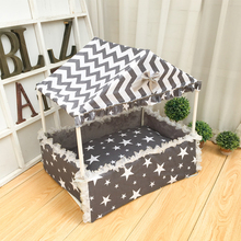 Cotton dog tent fence pet bed calving special production care nest beautiful house comfortable kennel
