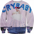 New Fashion Mens/Womens Cry Baby Melanie Martinez Funny 3D Print Sweatshirt S M L XL XXL 3XL 4XL 5XLS M L XL XXL 3XL 4XL 5XL
