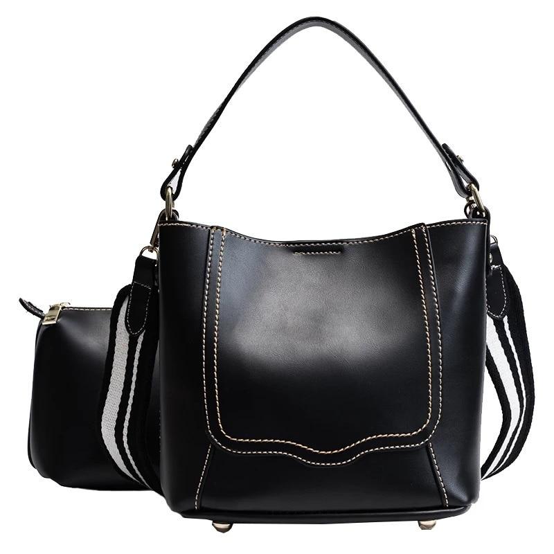 2019 neue frauen breite schultergurt master tasche mit einfache einzel-schulter handtasche