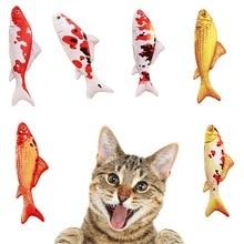 Kacsa Menta Hal Játékok Plüss Töltött Rágógumi Játékok Interaktív Kitten Termék Cat Supplies