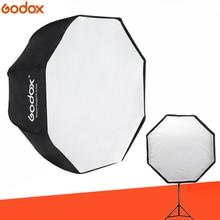 "Godox 80 cm/32 ""sekizgen şemsiye Softbox taşınabilir sekizgen flaş Speedlight Speedlite şemsiye Softbox stüdyo fotoğraf"
