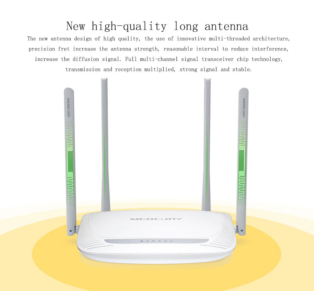 Bộ phát wifi 4 râu Mercury MW325R 300Mbps cực khỏe