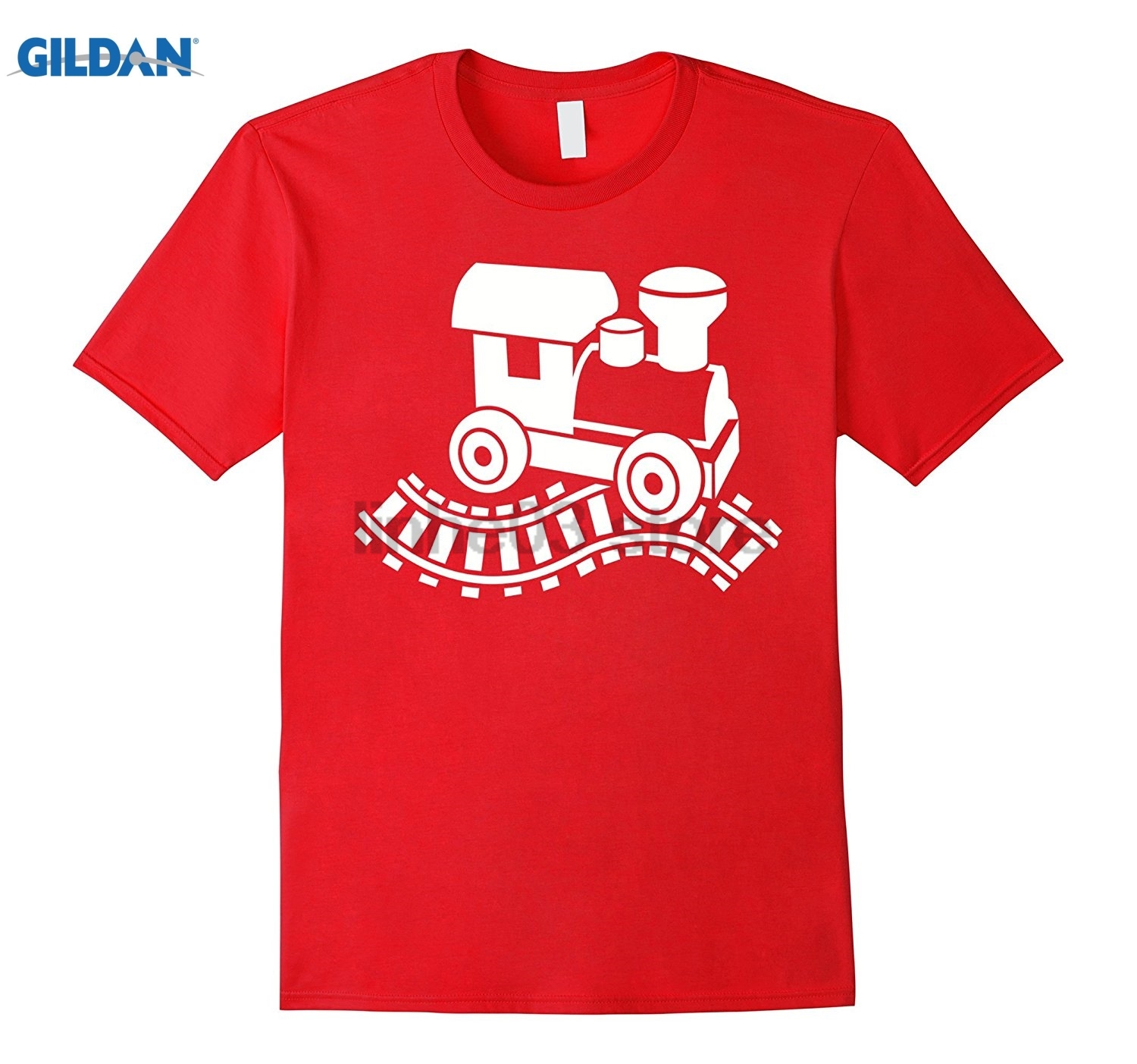 GILDAN Model railway T-Shirt Dress female T-shirt