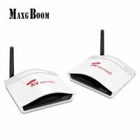 Smart 2 4G Digital STB Wireless Sharing Device IR Remote Extender AV Transmitter And Receiver 38