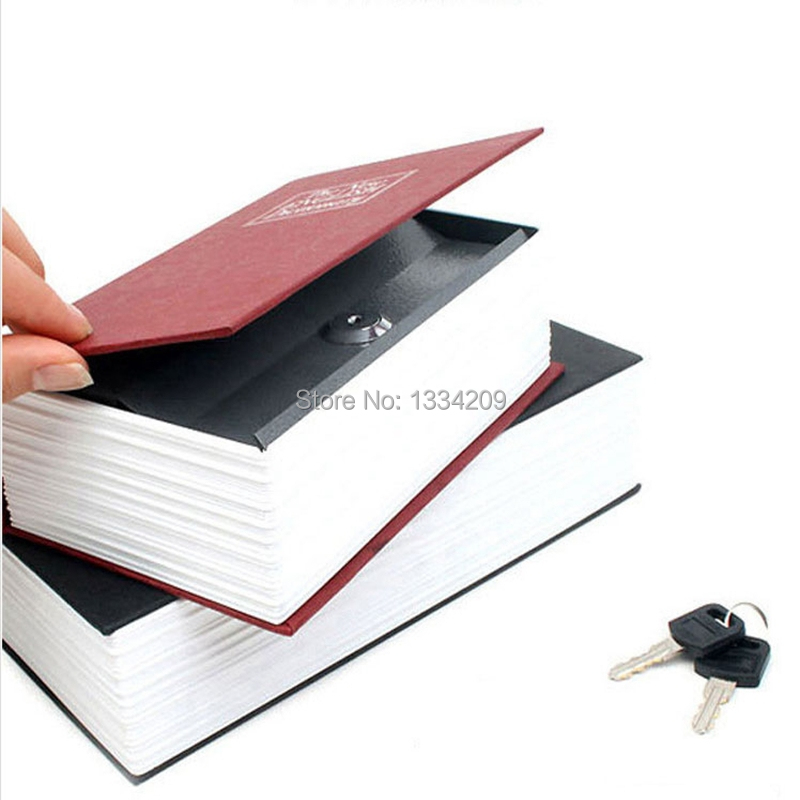 1 Piece Small Disguised Dictionary Secret Book Safe with