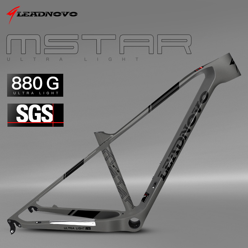 Carbon Frame 2019 Super Light Mountain Frame 29er 27.5er China Chinese Taiwan Race Carbon Fibre Mtb Bike Bicycle Frames LNMSTAR(China)