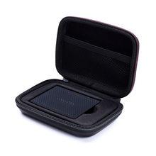 Pokrowiec z twardego silikonu EVA przenośny 250GB 500GB 1TB 2TB SSD USB 3.0 zewnętrzne dyski półprzewodnikowe do Samsung T5/T3/T1
