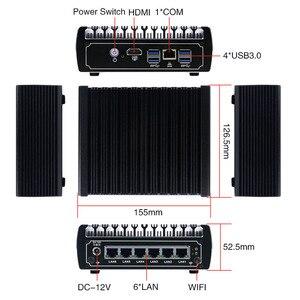 Image 4 - Yanling 最新 pfsense ボックス 7th 世代 kaby 湖インテル i5 7200u 2.5 デュアルコアファンレスケース 6 lan ミニサーバ pc サポート AES NI