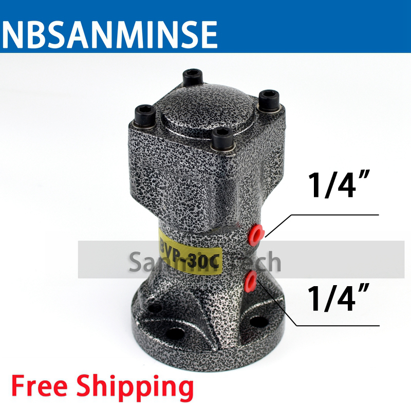 NBSANMINSE BVP Series Security Pneumatic Air Vibrator For hopper Air Piston Vibrator Hammer free shipping industrial new fp series pneumatic piston vibrator fp 18 m free ship via air express